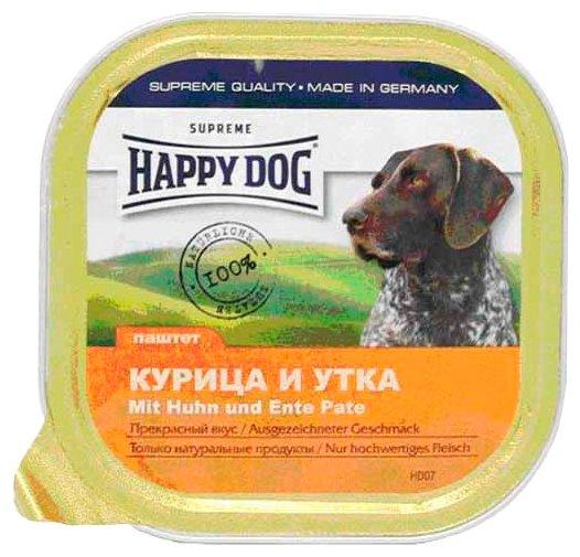 Корм для собак Happy Dog NaturLine утка, курица 18шт. х 300г