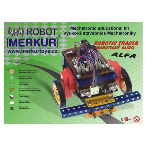 Электромеханический конструктор Merkur Robotics Set 40050 Трассировщик ALFA Конструкторы