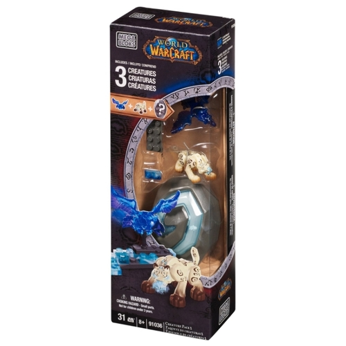 Конструктор Mega Bloks World of Warcraft 91036 Три существа