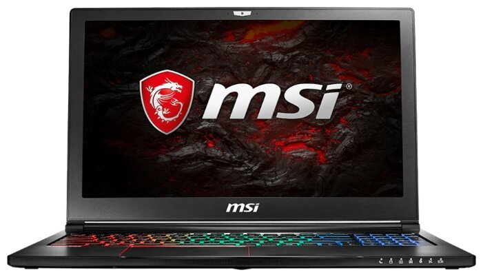 Ноутбук MSI GS63VR 7RF Stealth Pro (Intel Core i7 7700HQ 2800 MHz/15.6