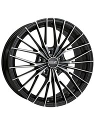 Диск OZ Ego 6,5x15/4x108 ЕТ25 D65,1 Matt Black + Diamond Cut - фото 1
