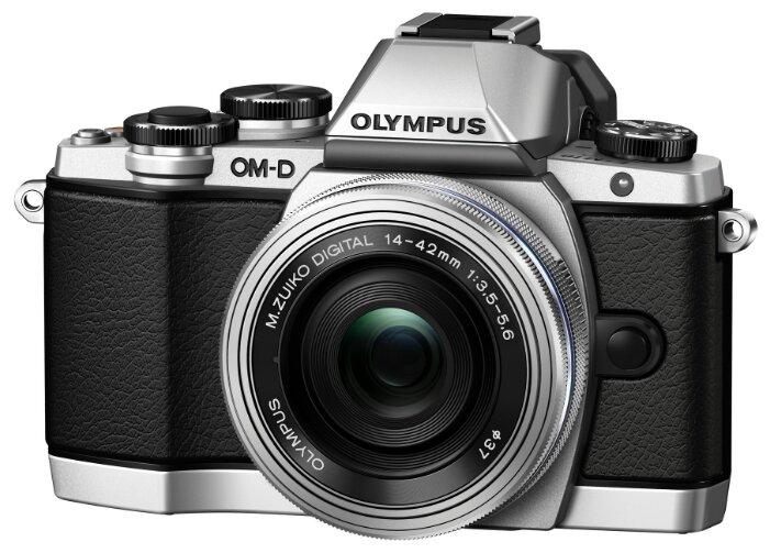 Olympus OM-D E-M10 Body (серебристый)