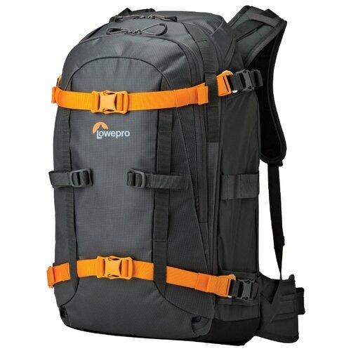 Фото - Рюкзак для фотокамеры Lowepro Whistler BP 350 AW черный/оранжевый рюкзак для фотокамеры kenko sanctuary 320 черный