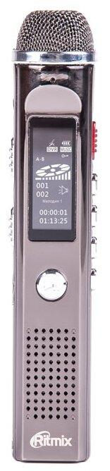 Цифровой диктофон Ritmix RR-150 8Gb черный