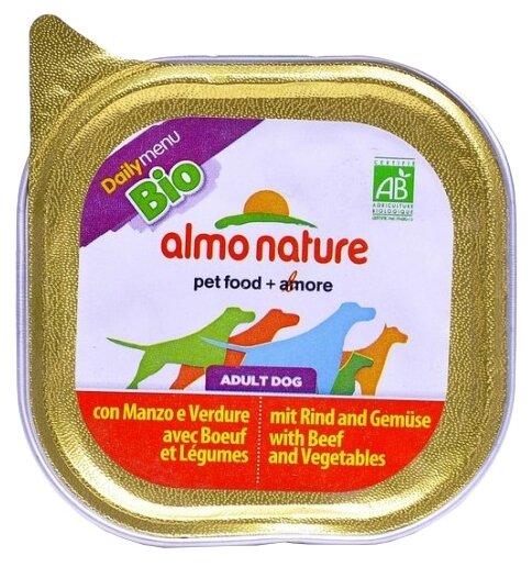 Корм для собак Almo Nature Daily Menu говядина с овощами 100г