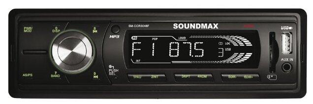 SoundMAX SM-CCR3048F  черный