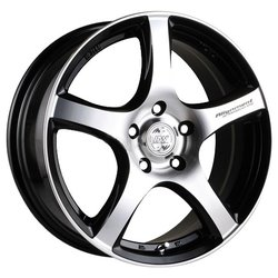 Колесные диски Racing Wheels H-531 6.5x15/4x98 D58.6 ET35 W-OBK FP