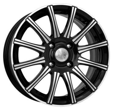 Колесный диск K&K Сиеста-оригинал 6x15/4x100 D60.1 ET50 Алмаз черный