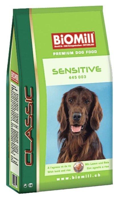 Корм для собак Biomill Classic Sensitive (3 кг)