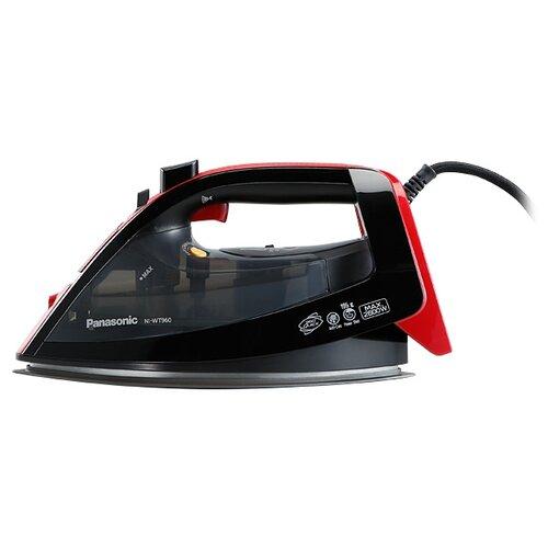 Утюг Panasonic NI-WT960R черный/красный
