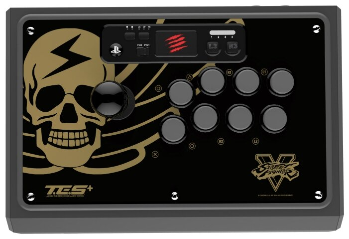 Mad Catz Геймпад Mad Catz Street Fighter V Arcade FightStick Tournament Edition S+ for PS4 & PS3