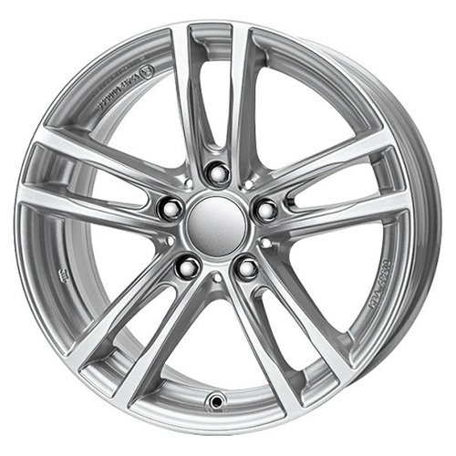 Фото - Колесный диск RIAL X10 8х18/5х120 D72.6 ET34, polar silver колесный диск rial x10 8х18 5х120 d72 6 et34 polar silver