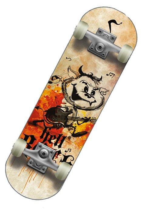 Скейтборд СК (Спортивная коллекция) Hellboy Jr