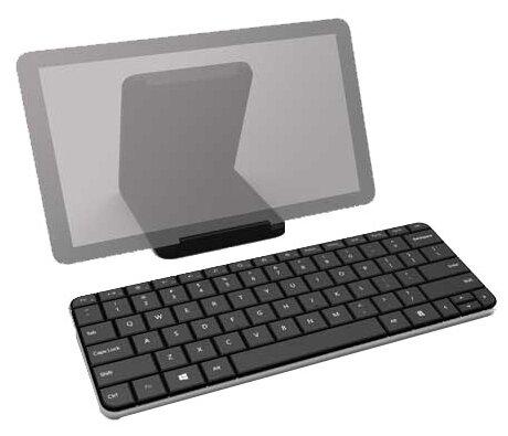 Microsoft Wedge Mobile Keyboard Black Bluetooth
