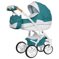 Детская универсальная коляска Riko Brano Luxe 3 в 1 (01/mocca)