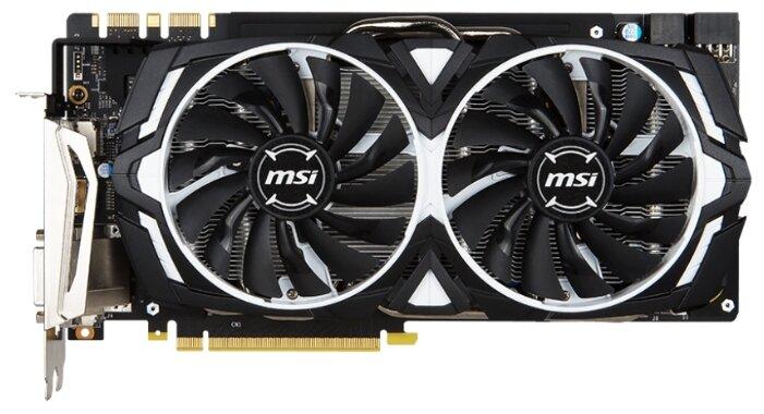MSI Видеокарта MSI GeForce GTX 1080 1657MHz PCI-E 3.0 8192MB 10010MHz 256 bit DVI HDMI HDCP