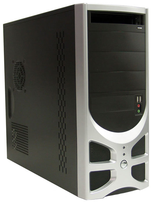 Компьютерный корпус Foxconn TLA-570A 400W Black/silver