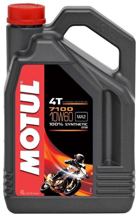 Моторное масло Motul 7100 4T 10W60 4 л