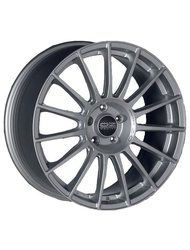 Диск OZ Racing Superturismo LM Matt Race Silver Black Lettering 8,5x19/5x114.3 D75 ET38 - фото 1