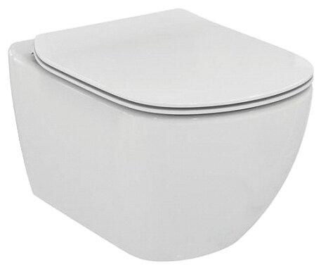 Чаша унитаза подвесная Ideal STANDARD Tesi T007901 с горизонтальным выпуском