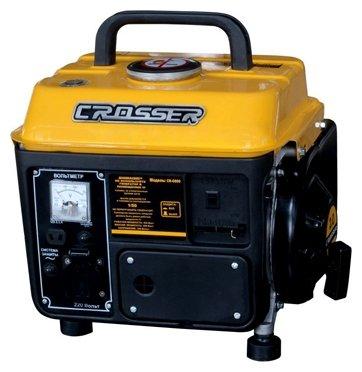 Бензиновый генератор Crosser CR-G800 (800 Вт)