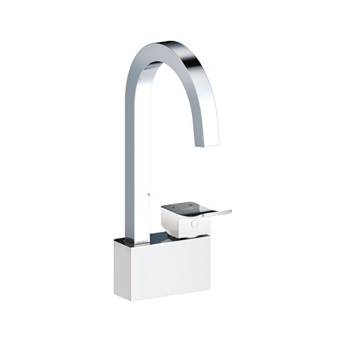 Смеситель для кухни (мойки) WasserKRAFT Aller 1067 white белый/хром недорого