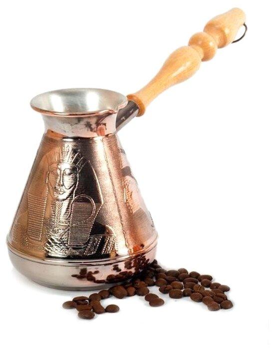 Кофеварки, турки, кофемолки Fissman Турка для варки кофе 550мл с индукционным дном (нерж.сталь)