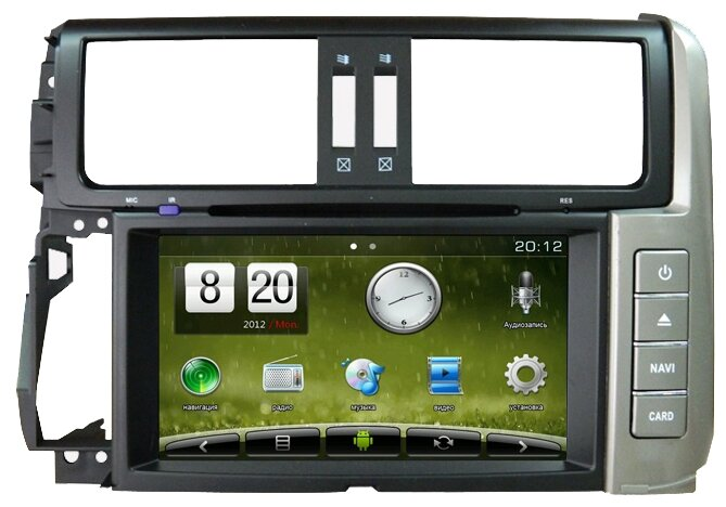 TRINITY Android Toyota Prado 150