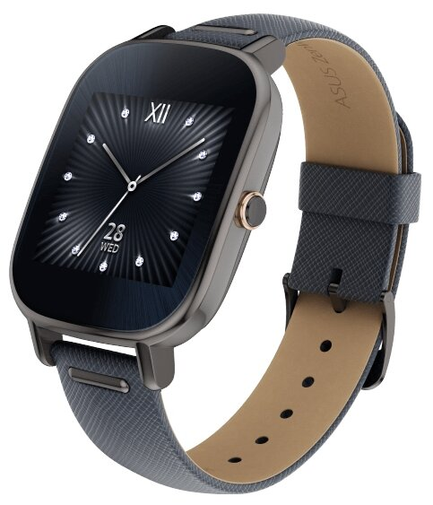 ASUS Часы ASUS ZenWatch 2 (WI502Q) leather