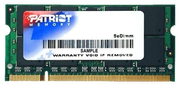 Patriot Memory Оперативная память Patriot Memory PSD22G8002S