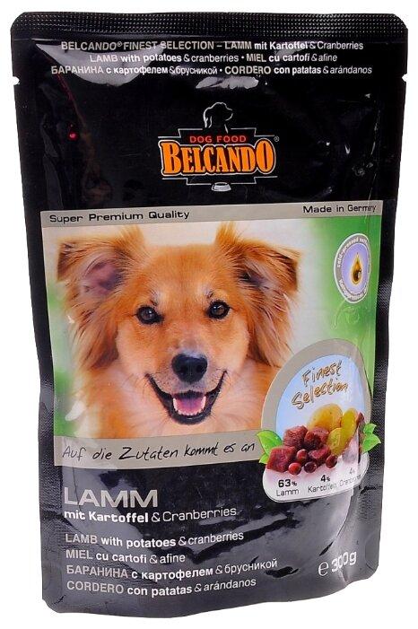 Корм для собак Belcando Баранина с картофелем и брусникой (0.3 кг) 6 шт.