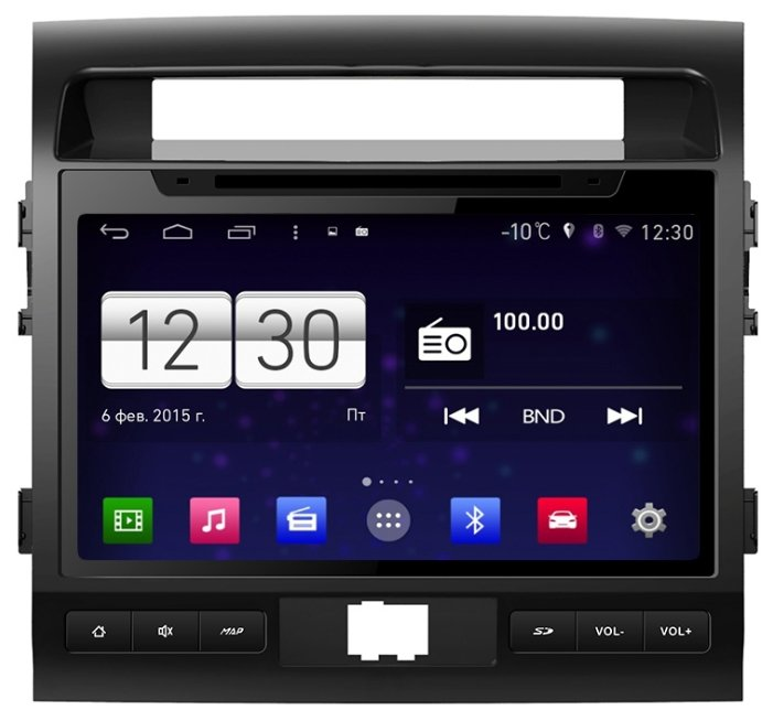 FarCar s160 Toyota Land Cruiser 200 на Android (m381)