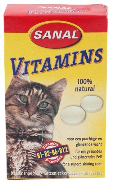 Витамины Sanal Vitamins для кошек