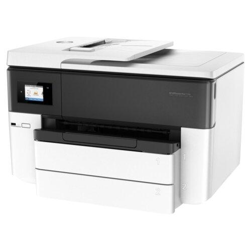Фото - МФУ HP OfficeJet Pro 7740, белый/черный мфу струйный hp officejet pro 7740 wf aio g5j38a a3 duplex net wifi usb rj 45 белый черный