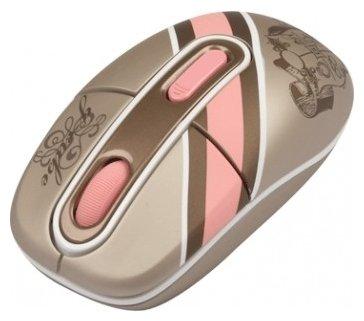 Мышь G-CUBE G4MR-1020RI Pink-Gold USB