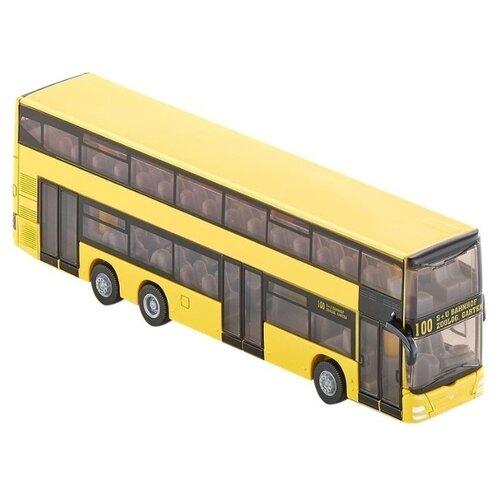 Купить Автобус Siku городской двухэтажный MAN (1884) 1:87 16 см желтый, Машинки и техника