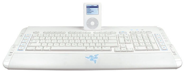Игровая клавиатура Razer KB ProType Ultraflat MM White USB