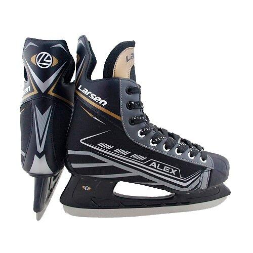 Хоккейные коньки Larsen Alex black/gray р. 31 по цене 2 901