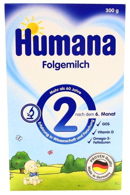 Смесь Humana 2 (с 6 до 12 месяцев) 300 г