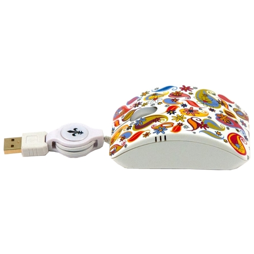 Мышь Bodino COLOURFUL DAY White USB
