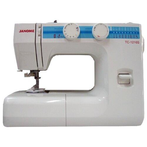 Фото - Швейная машина Janome TC 1216S швейная машина janome tc 1218 белый