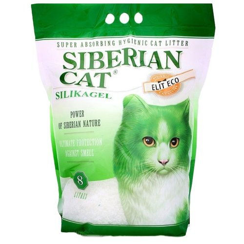 Наполнитель Сибирская кошка Элитный Эко (8 л)Наполнители для кошачьих туалетов<br>