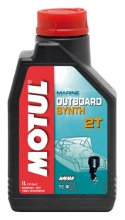 Моторное масло Motul Outboard Synth 2T 1 л