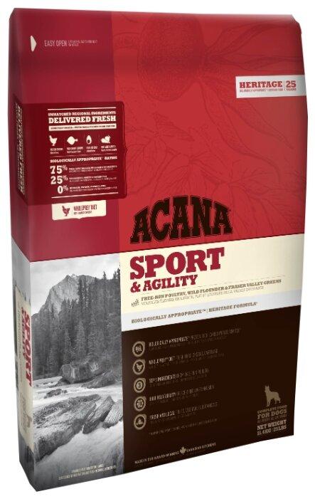 Корм для собак Acana Heritage Sport & Agility