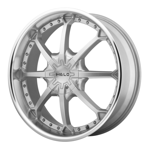 Колесный диск Helo HE871 8.5x20/6x139.7 D100.5 ET35 Silver with Machined Lip