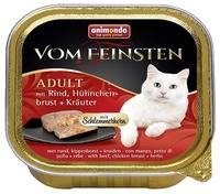 Корм для кошек Animonda (0.1 кг) 1 шт. Vom Feinsten Adult Меню для привередливых кошек с говядиной,