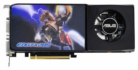 ASUS GeForce GTX 285 648Mhz PCI-E 2.0 1024Mb 2484Mhz 512 bit 2xDVI HDCP