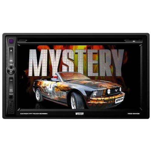 Автомагнитола Mystery MDD-6840S, черный mystery mdd 7900ds