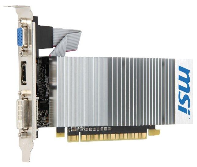 MSI GeForce 210 589Mhz PCI-E 2.0 512Mb 1000Mhz 64 bit DVI HDMI HDCP TurboCache