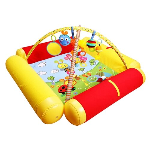 Развивающий коврик Biba Toys Друзья Бюсси (GD158)Развивающие коврики<br>